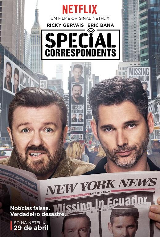 Special Correspondents Netflix poster
