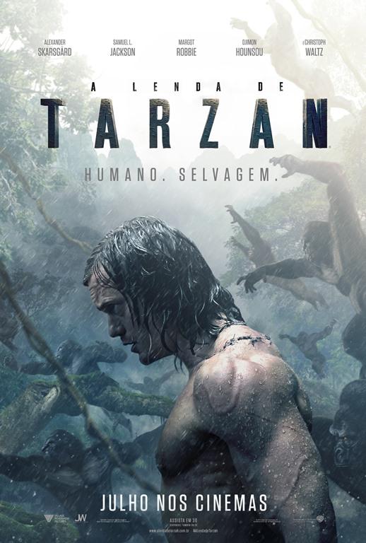 A Lenda de Tarzan - Poster Teaser - Copia