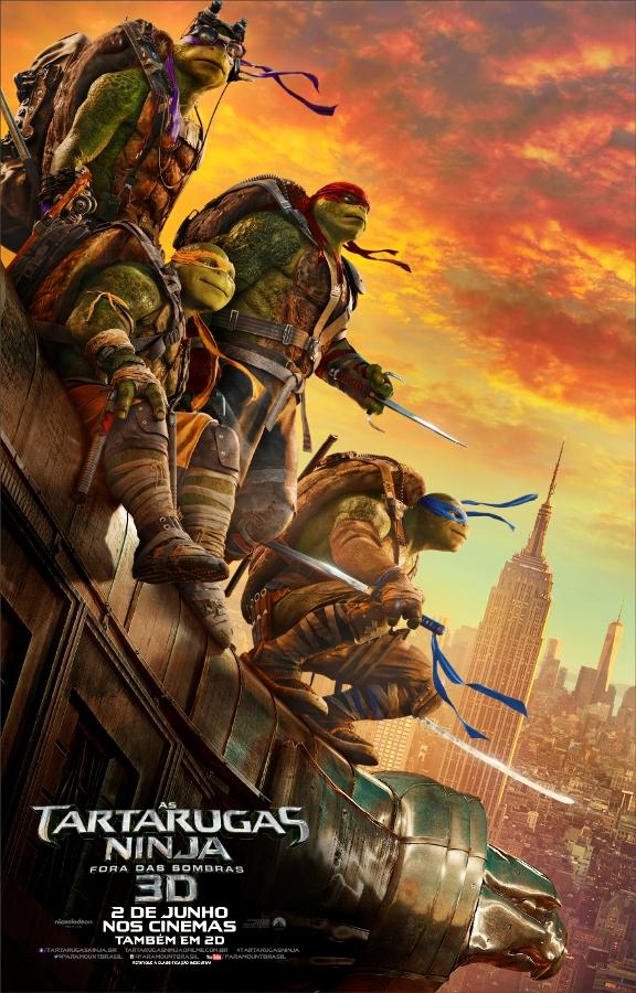 Tartarugas ninjas poster 2