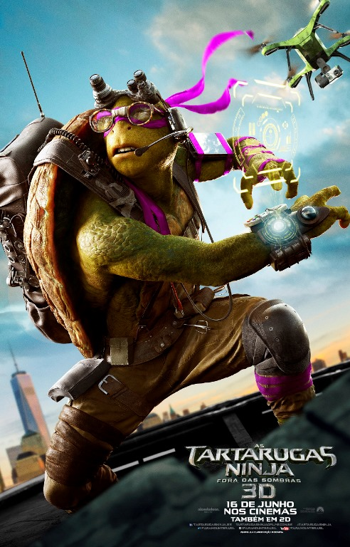 TMNT2 poster Donatello