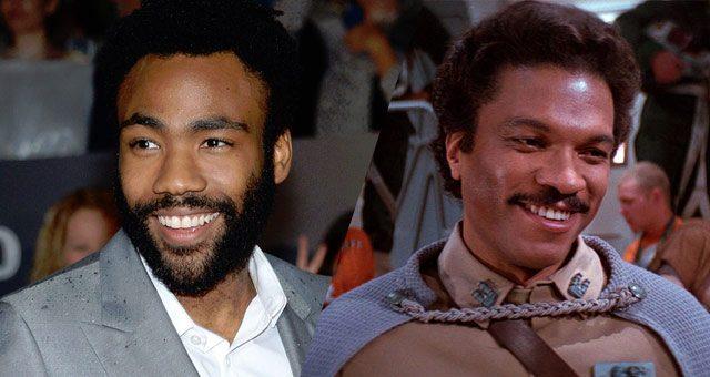 Donald Glover / Billy Dee Williams como Lando