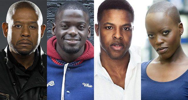 Whitaker, Kaluuya, Duke, e Kasumba