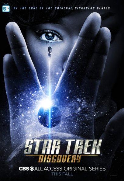 Pôster da série Star Trek Discovery