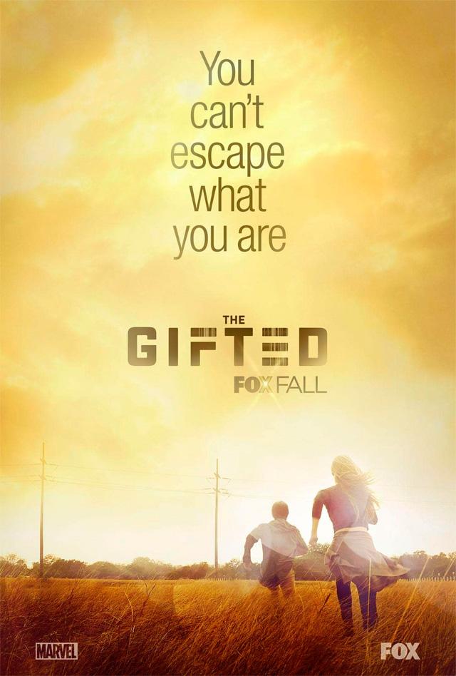 Primeiro pôster da série The Gifted
